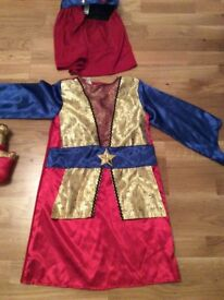 5-7 years old Christmas nativity outfit