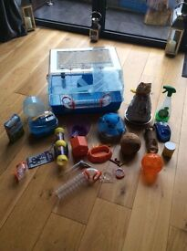 Hamster/Small Animal Cage & Accessories