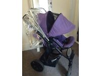 Britax B-Smart buggy / pushchair / stroller, rain cover is included,