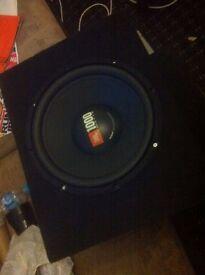 Sub box Jbl 1000 watts