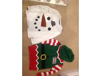 Next Elf Christmas Jumper and Top Age 5 and 4-5