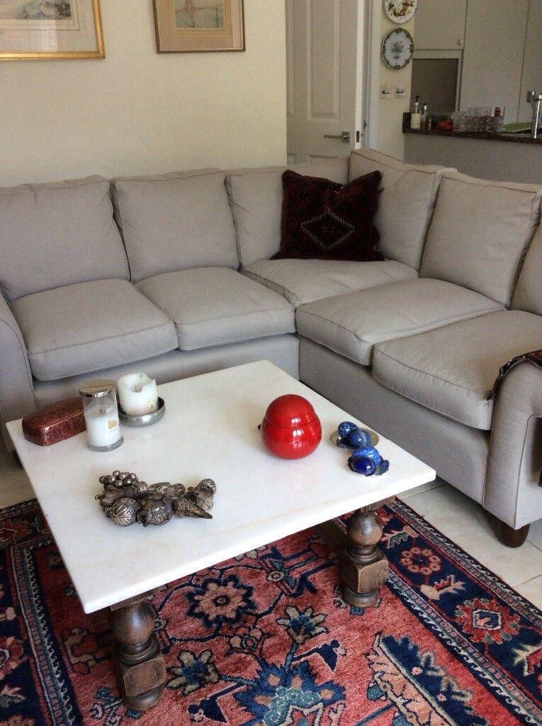 2. Metre Long Grey Sofa, Good As New, L Shaped From. Laura