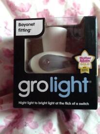 Gro light with box