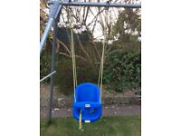 Children's swing seat little tikes