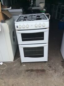 55cm new world gas cooker three month guarantee delivery available