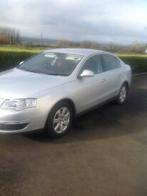 2006 Volkswagen passat, silver, mot'd to sept 2018, 5 months road tax
