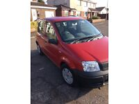 57REG FIAT PANDA ACTIVE 1.1 5 DOOR RED FULL SERVICE HISTORY MOR JAN 2019 ONE LADY OWNER IMMACULATE