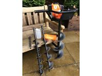 Fence Post Auger