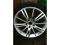 18inch Bmw Alloy ( MV3) with tyre ...