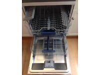 Exceptionally Quiet Siemens Silver Dishwasher