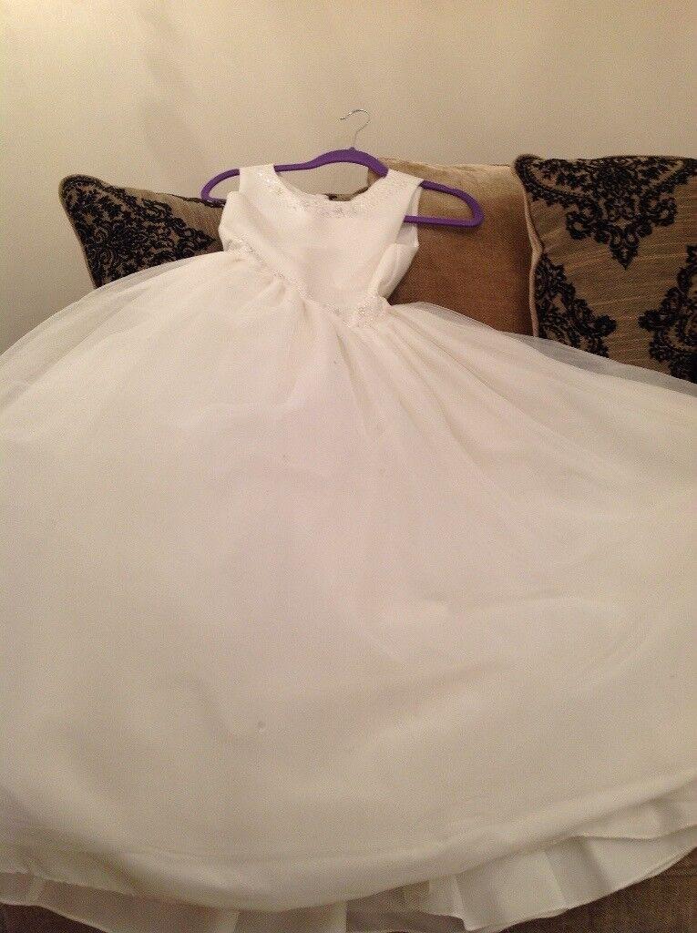 Age 7/8 communion /flower girl dress