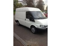 Ford transit 2006 T280 SWB SEMI HIGH TOP SERVICE HISTORY
