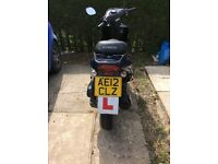 Kymco moped 2012 not in working condition selling for parts