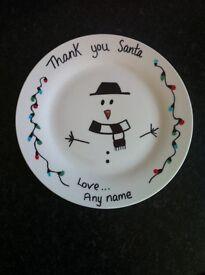Novelty Christmas plates