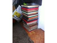 loads of albums and boxsets 50's 60's 70's