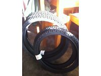 KIds Mountain bike tyres 24 inch & 20 inch
