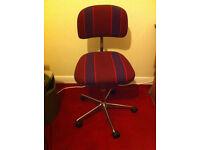 Typists chair - 5 castor legs
