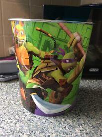 Ninja turtle bin