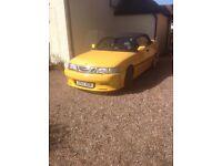 Saab convertible as seen in photos