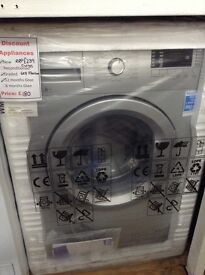 Silver Beko 6kg washing machine 12 month gtee