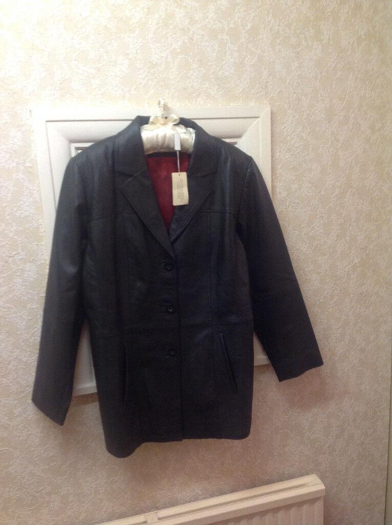 Ladies Classic Leather Jacket