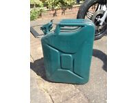 20 litre petrol/diesel Jerry Can