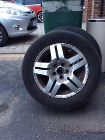 4 Avis II VW Golf MK4 Alloy wheels