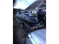 6 m xs rib boat (mint)46 hours from new