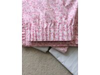 Girl's Mothercare Pink Curtains