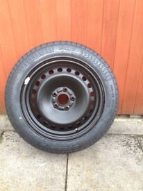 Spare wheel for Ford Mondeo