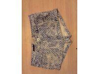 Size 14 Spotty Shorts/Hotpants