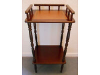 Decorative Mahogany What Not - Drinks or Cocktail Stand - Hall Table - Plant Stand