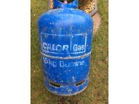 Gas bottle.