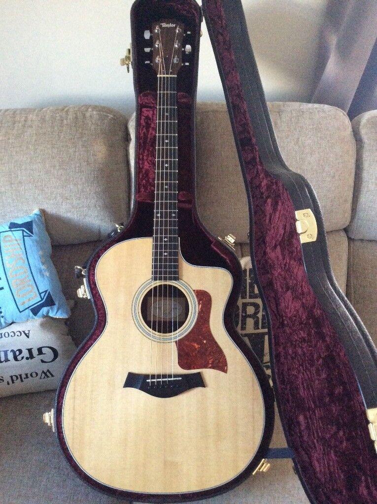 taylor 214ce dlx semi acoustic guitar in whitburn west lothian gumtree. Black Bedroom Furniture Sets. Home Design Ideas