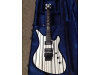 Schecter Syn Custom with Schecter hard case both mint condition - Price drop!