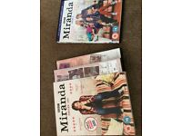 Miranda series 1,2,3 dvds