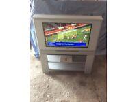 "TOSHIBA 26"" Widescreen TV c/w Freeview Box"