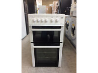 Beko BDVC563AW Electric Cooker with Ceramic Hob - White #355199