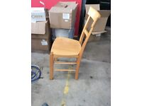 35x cafe , coffee shop chairs (wooden )
