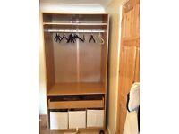 Wardrobe-storage unit