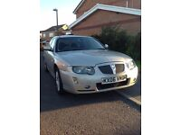 2006 Rover 75 in white gold, immaculate, like new, FSH, 2 Keys, new Clutch, Diesel, 1 previous owner