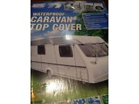 Caravan cover Brand New, boxed Caravan roof cover with storage bag