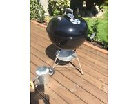 Weber Barbecue, 57cm, plus Barbecue Starter