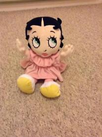 Betty Boop soft doll
