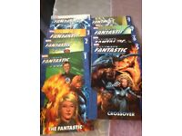 Marvel Ultimate Fantastic Four volumes 1-7 and 9