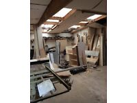 Worktops and kitchen carcasses