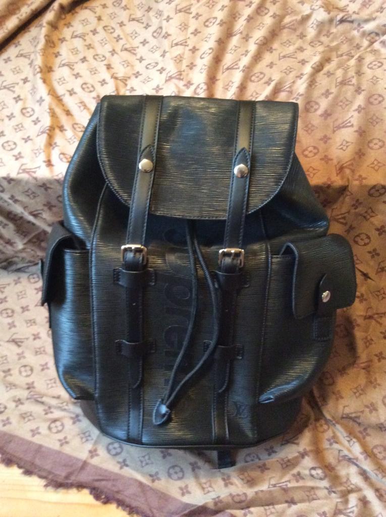 c81ca0b111ba LV Louis Vuitton supreme Christopher backpack rucksack brand new ...