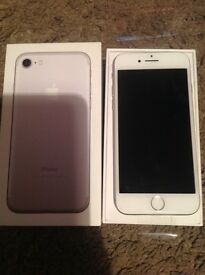 iPhone 7,128 gb, unlocked brand new in box,