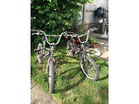 Raleigh Burner BMX x 2