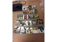 Sony PlayStation 3 slim console 320 gigs,sold as not working